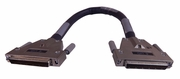 IBM 1.3ft HD68-M to HD68-M Universal SCSi Cable 19P0872 Black External  LVD Cable