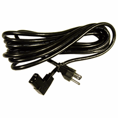IBM 10a 125v 13ft-4.3m Black Angle Power Cord 39M5079 Right Angle  Longwell Cable