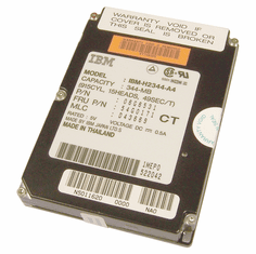 IBM 2.5in 340MB H2344-A4 54G0171 Hard Drive 06G6531 TP750 And TP755