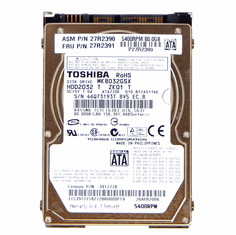IBM 27R2390 SATA 5400rpm 80GB with Tray HDD 27R2391 2.5in Lenovo Hard Drive