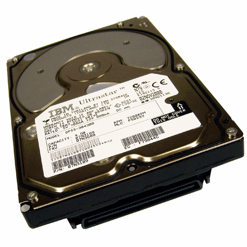 IBM 4GB 3.5in 7.2k 80-Pin SCSI Hard Drive DPSS-304300 Ultra3 HDD 07n3189