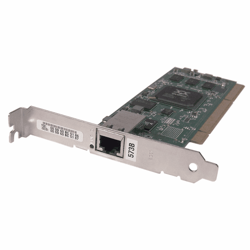 IBM 573B 1GB-TX iSCSi 1-Port Toe PCI Card QLA4050C-IBMP PCIx QLogic  Adapter Card