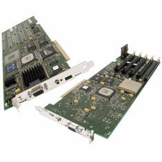 IBM 93H2790 PCI 5-DIMM Slot GXT 800p Adapter 07L7113 7025 F50 RS/6000 Card