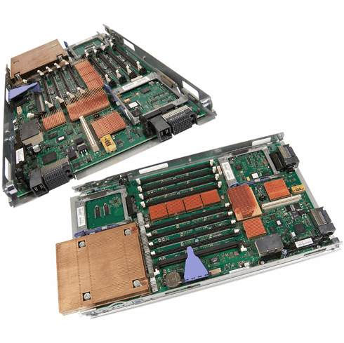 IBM Blade Center JS12 w1-CPU Board System Assy 10N9674 46K7296 with Tray 44M1501
