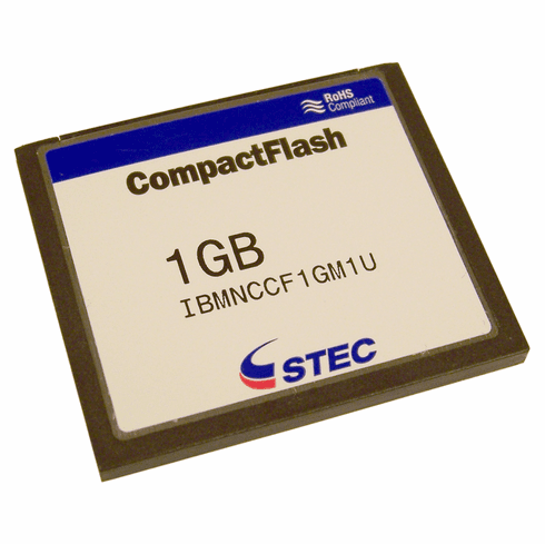 IBM BladeCenter HT 1GB CompactFlash Card 42C5323 77P6624 RoHS IBMNCCF1GM1U