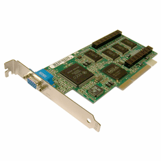 IBM Matrox 728-02 NLX 8MB AGP Video Card  01K4326 MIL2AN/8/IBM  01K4325