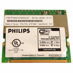 IBM Thinkpad  802.11a-b Wi-Fi Mini PCi Card 26P8506 Philips Dual-Band Wireless