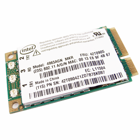 IBM Thinkpad WiFi-Link Intel 4965agn Card NEW 42T0905 4965agn-MKr INT-4965AGNKR