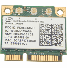 Intel 633ANHMW 802-11abgn WLAN WiFi Card  698588-001