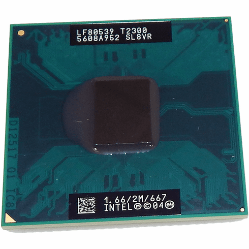 Intel Core Duo 1.66 Ghz 2MB T2300 Laptop CPU New SL8VR 41W1132