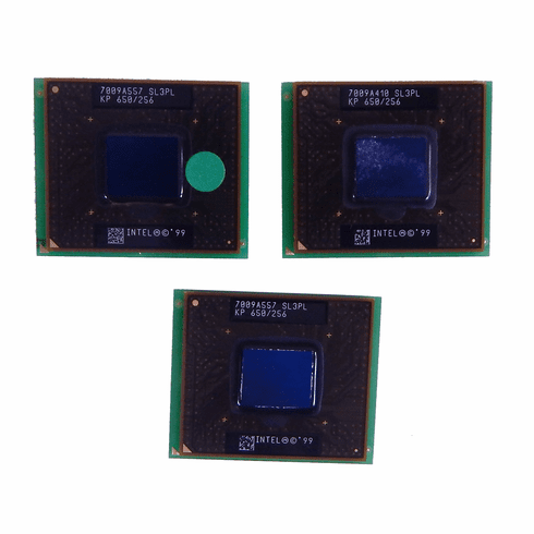 Intel PIII 650Mhz Mobile CPU 100FSB uPGA2 Processor SL3PL