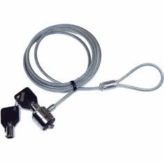 Keylock Security Clear Cable Notebook Lock 108-42C-KD1