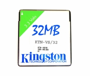 Kingston KTN-VS/32 32MB PC Card Memory KTN-VS32 32MB Credit Card (3.3 Volt)