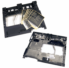 Lenovo ThinkPad X41 Base Bottom Cover New 26R9323 with speaker and labels