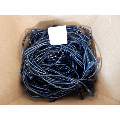 Lot-10 13-Ft C13 to C14 Ext Power Cord C132C14-13-L10 125VAC 13A