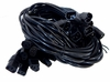 Lot-10 9Ft C13 to C14 Ext Power Cord C132C14-9-L10 250VAC 10A Extension Cord
