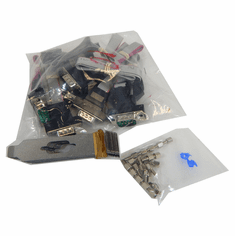 Lot-10 DB9 Serial Cable w Low Bracket K14-101-LP-L10 Motherboard Serial COM Port