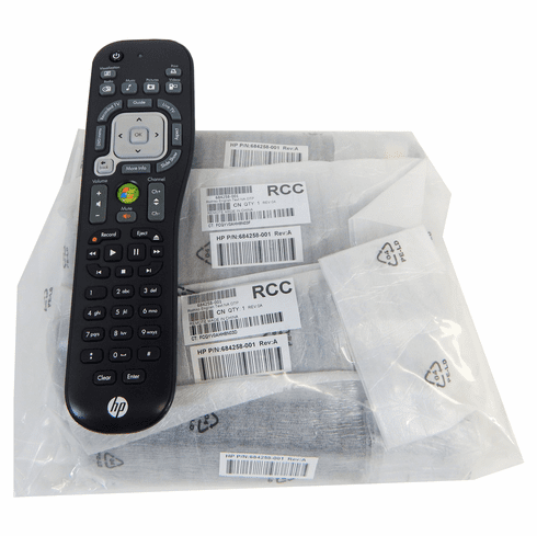 Lot-10 HP Media Remote Control ONLY TSGH-2401-L10 (NO-Receiver)