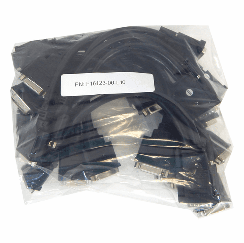 Lot-10 Matrox DMS-60 to Dual DVI-I Cable F16123-00-L10 DMS-60 to 2-DVI-I Dual Link