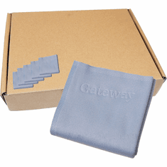Lot-100 9x9 in LCD Cleaning Cloth NEW 8007901-L100 Length 9x9 Inches