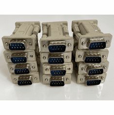 Lot-12 Startech M/M DB9 RS RS232 Serial Adapter NM9MM