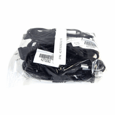 Lot-13 IBM 2.5Ft 1-15P to C7 2-Prong Pwr Cord 42T5093-L13 3a 125v