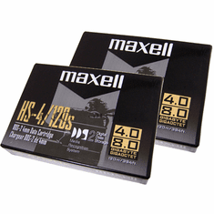 Lot-2 Maxell DDS2 4/8GB 4mm Data Cartridge New DDS-2-L2 120 Meter/384ft