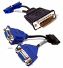 Lot-20 Molex DMS-59 to Dual VGA VIdeo Cable G9438-L20