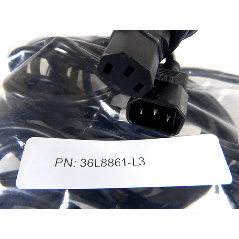 Lot-3 IBM C13 to C14 14Ft Ext Power Cord 36L8861-L3 10a 250vac Extension Cable