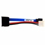 SATA Cable Lot-20 18in Right Angled 381868-006-L20 Straight to Right Angle Conn