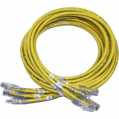 Lot-5 6FT Augmented Cat6A UTP Cable MC10GE-MP-6-5 AWG24 Network Cable