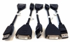 Lot-5 Dell Display Port to DVI-D Video Adapter 23NVR-L5