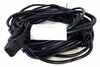 Lot-6 13-Ft C13 to C14 Ext Power Cord C132C14-13-L6 125VAC 13A