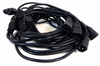 Lot-6 8-Ft C13 to C14 Ext Power Cord C132C14-8-L6 250VAC 10A