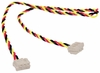 Lot-75 3Com 12in Wake-On-LAN 3-Pin Cable 07-0379-000-L75 WOL 3-Wire Twisted Cable