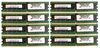 Lot-8 IBM 1GB PC2-3200R CL3 ECC REG Memory 73P2870-L8 400MHz 38L5093 8GB (8x1GB)