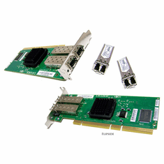LSi 2Gbs PCI-x Low-Profile Fibre Card LSI7202XP-LC-LP No Standard Bracket Included