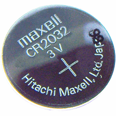 Maxell 3v Lithium CMOS Coin Type Battery New CR2032/3V CR2032/3V