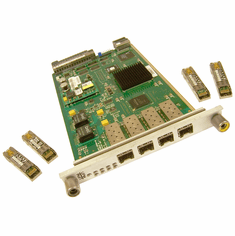 Mc Data 4-Port UPM Module w 4xGBIC New 480-000474-108 with 4 GBIC-V23848-M15-C56W