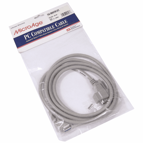 MicroAge M-F 6-Ft VGA Extension Cable PM41000-01 MIC-A-48630