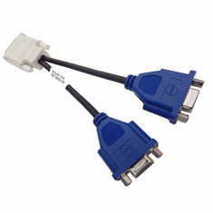 Molex DMS-59 to 2-VGA Y-Splitter Cable 887-6852-00