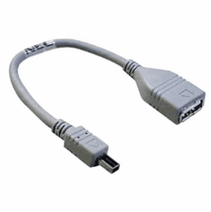 NEC Type A to B Male 6in USB Cable New MC/PG-UK02 28AWGXIP MC/PG-UK02 Cable