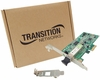 NIC Transition Gigabit  PCIe LC 1000base-SX 746501-001 N-GXE-LC-01