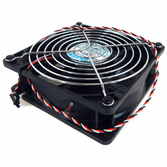 NMB Dell 12v DC 0.35a 3-Wire 40x120mm NO-Shroud FAN Only 3-Pin PE4100- 4715KL-04W-B19