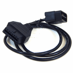 OBD2 3FT 16Pin M/F Test Cord Extension Cable New OBD3FXC