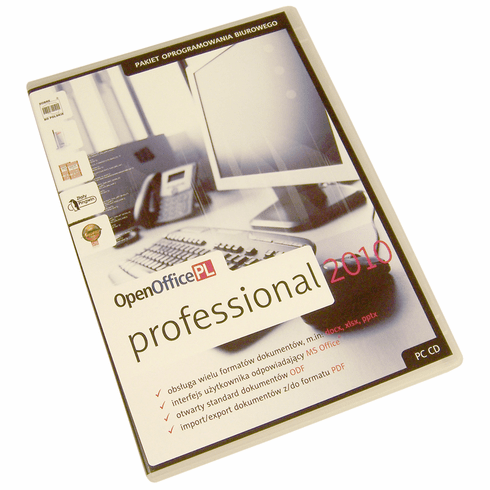 OpenOffice Professional 2010 Polish New OPENOFFICE-PL PC CD With License