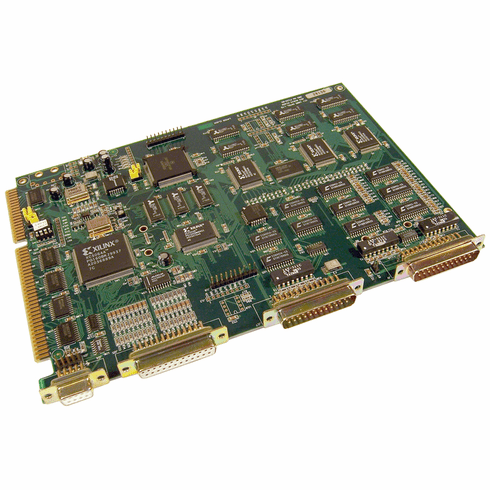 Oxtel MC-SWR-603 AES Audio Mixer Board Assembly P123-02 Oxtel AES Audio Board