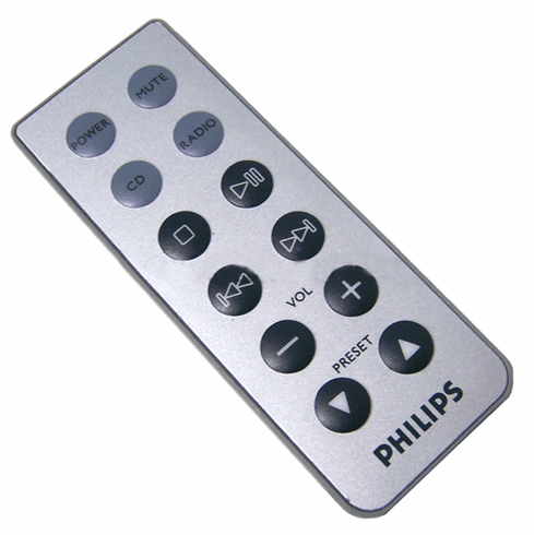 Philips CD Radio Mini Remote Control NEW 994000005717 Coin Battery CR2025 Included
