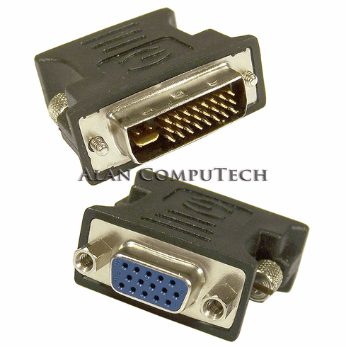 PNY DVI-I (M) to VGA Dual Link Vid Adapter 91005951-T DVI-I Dual Link Video Adp