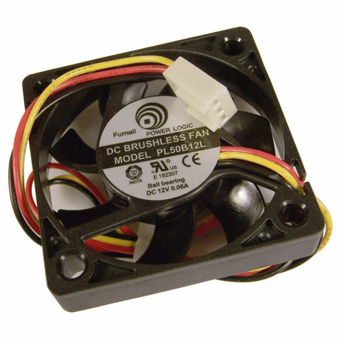 Power Logic 12v DC 0.06a 3-Wire 10x50mm Fan PL50B12L 3-Pin Ball Bearing FAN